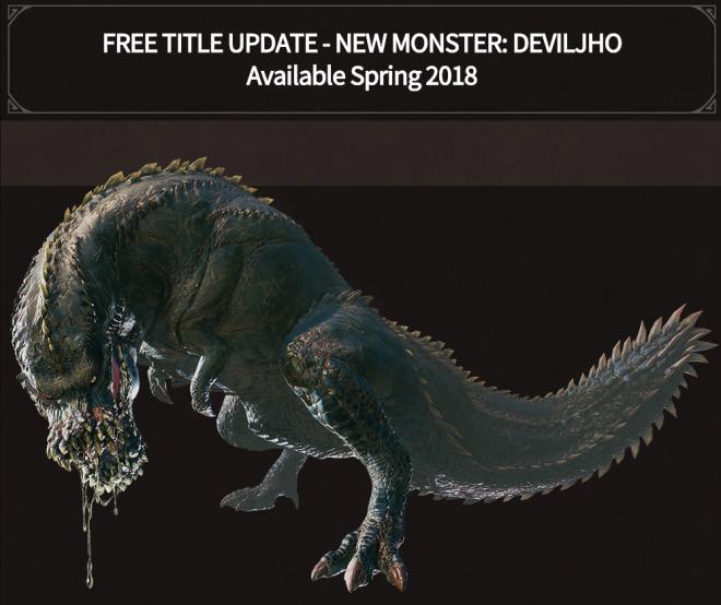 New Monster Deviljho Monster Hunter