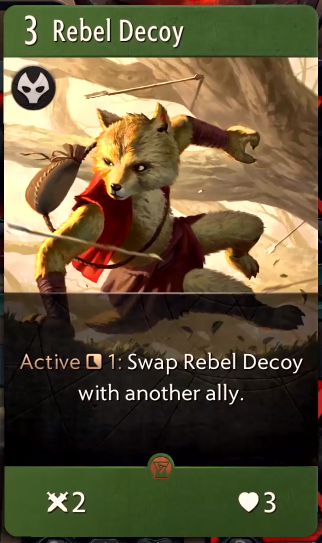 Artifact: General - Rebel Decoy image 1