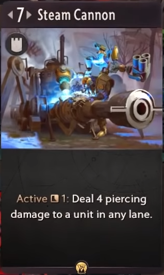 Artifact: General - Steam Cannon image 1