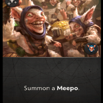 A question about Meepo's signature card