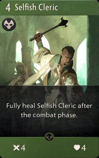 Artifact: General - Relentless Zombie and Selfish Cleric image 3