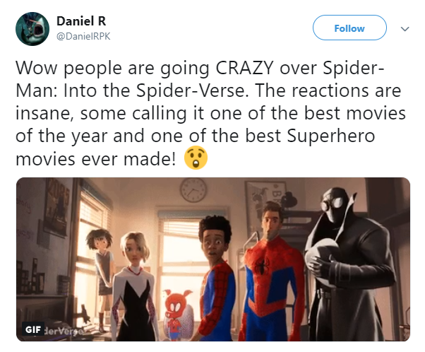 Entertainment: Movies - Spider-Man: Into the Spider-Verse image 2