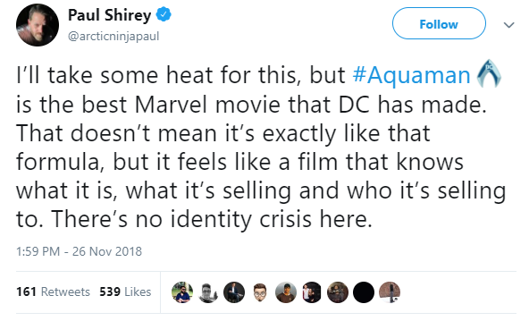 Entertainment: Movies - Aquaman Preview Reactions image 4