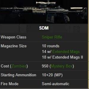 Call of Duty: General - 7. Dream of One Shot One Kill, All of SRs Review image 6