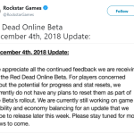 Rockstar is not planning on resets / An update later this week