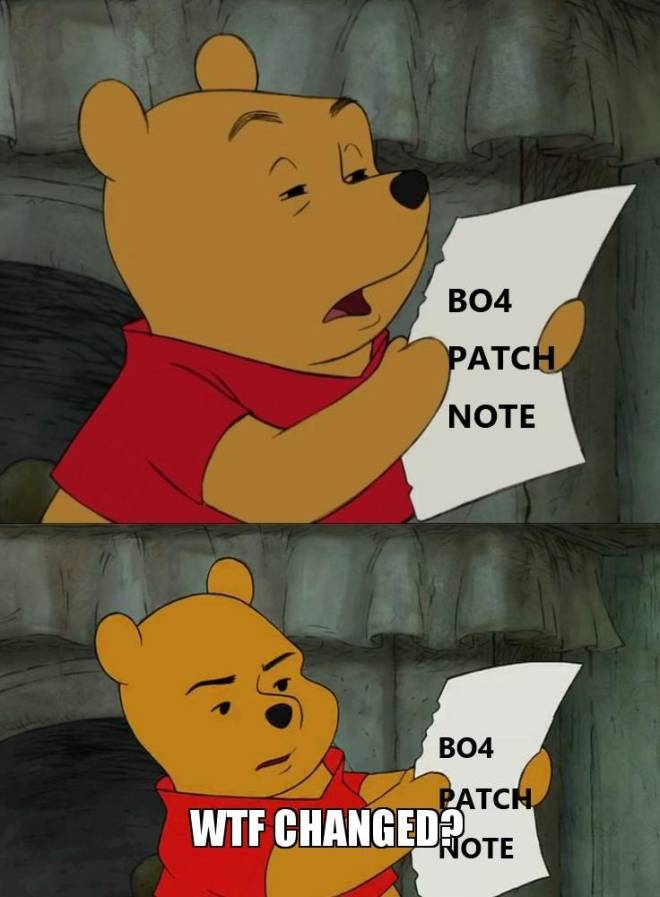 Call of Duty: Memes - Everytime I see patch notes image 1