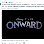 "A new Disney•Pixar animation ""Onward"""