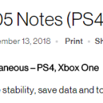 RDR 2 1.05 Patch Notes