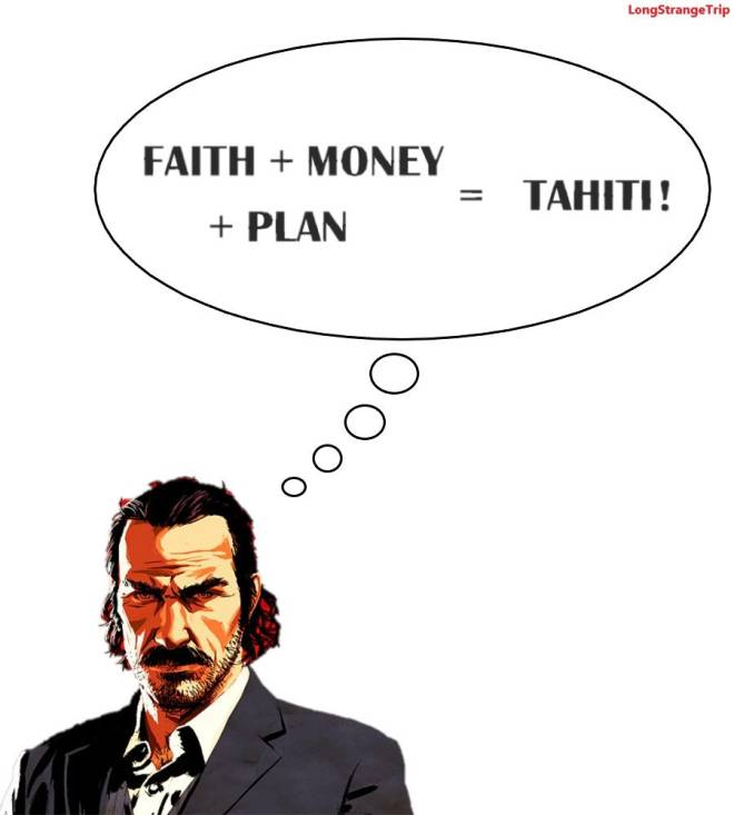 Red Dead Redemption: General - We all know what Dutch thinks all the time image 1