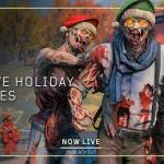 Festive Holiday Zombies is LIVE