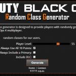 Random Class Generator!