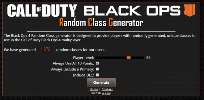 Call of Duty: General - Random Class Generator! image 1