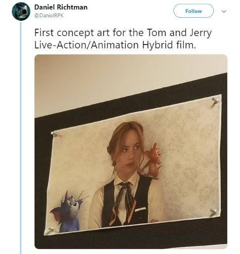 Entertainment: Movies - Tom and Jerry Live-Action Concept Art Revealed! image 1