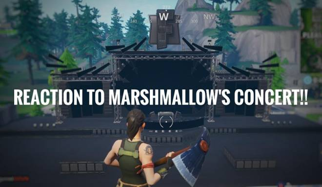 Fortnite: Promotions - I *REACT* To MarshMallow Concert!! image 4