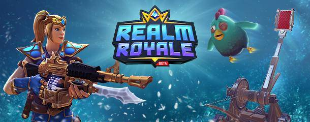 Realm Royale: General - the new lmg that's coming out sounds epic image 2