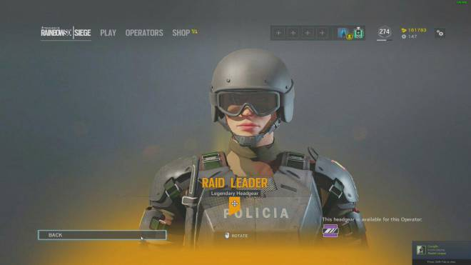 Rainbow Six: General - Rate That Legendary #14 image 1
