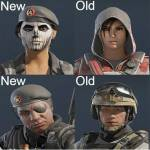 New faces in operation Burnt Horizon.