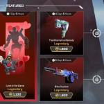 What's in the Apex Legends Shop today? 18-19th of February