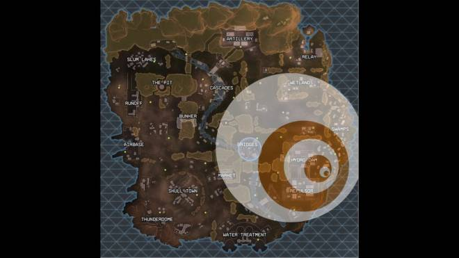 Apex Legends: General - Ring stats and stages (Circle sizes, damage stats) image 1