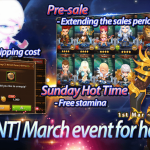 [EVENT] March event for heroes