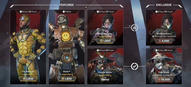 Apex Legends: General - What's in the Apex Legends Shop today? 26 February image 1