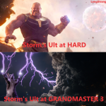 Storm's Ultimate be like