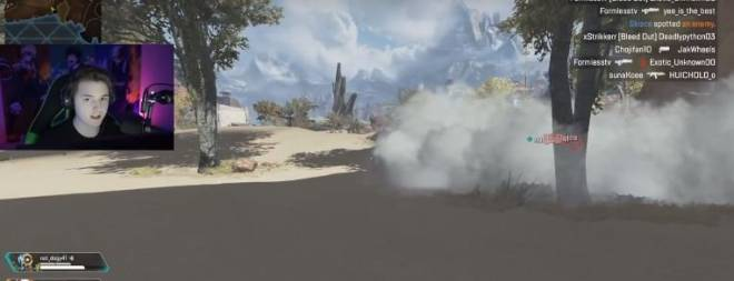 Apex Legends: General - Glitch makes to remove the smoke effects  image 4