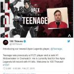 100 Thieves sign former H1Z1 and Overwatch star