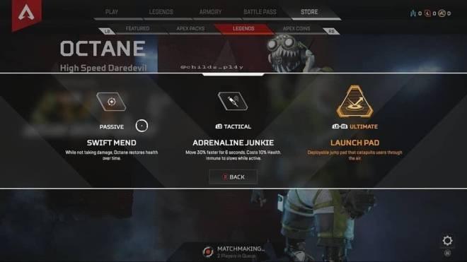"Apex Legends: General - [LEAKS] New character ""Octane"" image 1"