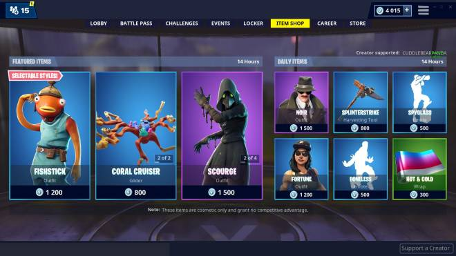 Fortnite: Promotions - Item shop 01-03-2019 image 3