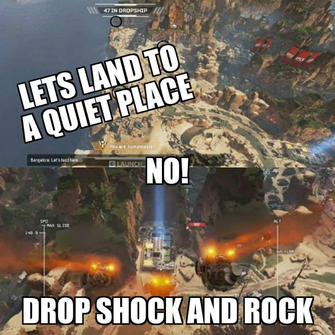 Apex Legends: Memes - When im the Jumpmaster image 2
