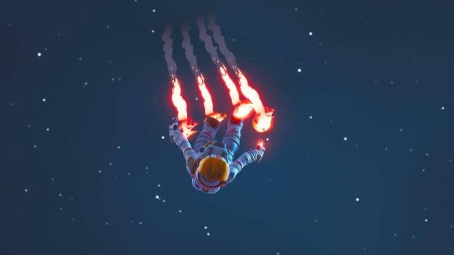 Fortnite: Battle Royale - To infinity and beyond... 👩🚀🚀✨❗ (MoonWalker Showcase)  {Main skin change} image 3