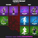New item shop March 16