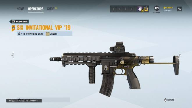 Rainbow Six: General - My pride and joy, one of the rarest skins in game for my fav gun image 2