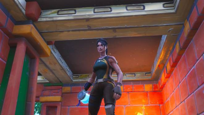 Fortnite: Battle Royale - Fortnite's Lara Croft 🧗🏾🗿✨ (Jungle Scout Showcase) image 7