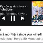 2 months on Moot!