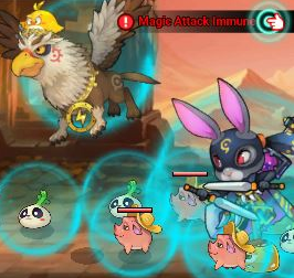 "60 Seconds Hero: Idle RPG: FAQ's & Guides - [System] What is ""Immune!""? Can't pass the stages!  image 4"