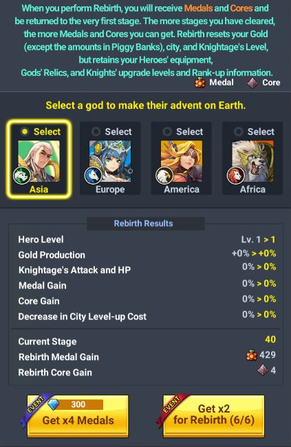 60 Seconds Hero: Idle RPG: FAQ's & Guides - [System][Rebirth] Guide to Rebirth image 6