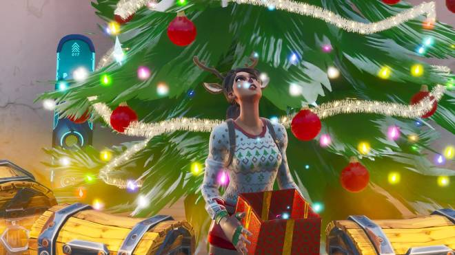 Fortnite: Battle Royale - It's time for some reindeer games... 🦌✨❗(Red-Nosed Raider Showcase) image 2