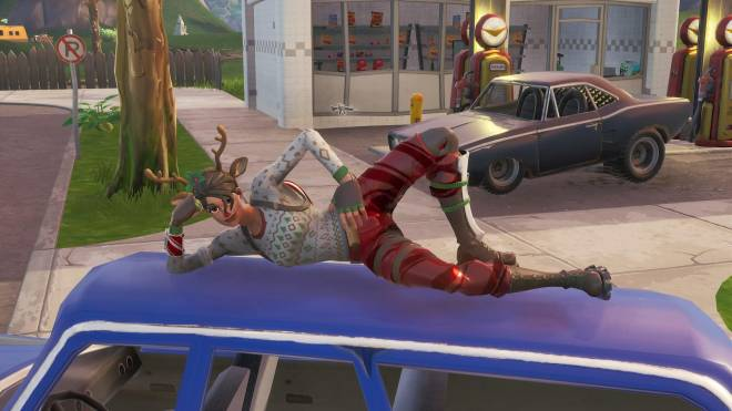Fortnite: Battle Royale - It's time for some reindeer games... 🦌✨❗(Red-Nosed Raider Showcase) image 21