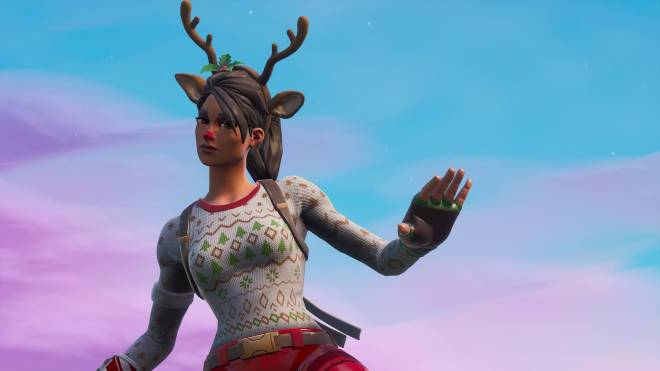 Fortnite: Battle Royale - It's time for some reindeer games... 🦌✨❗(Red-Nosed Raider Showcase) image 6