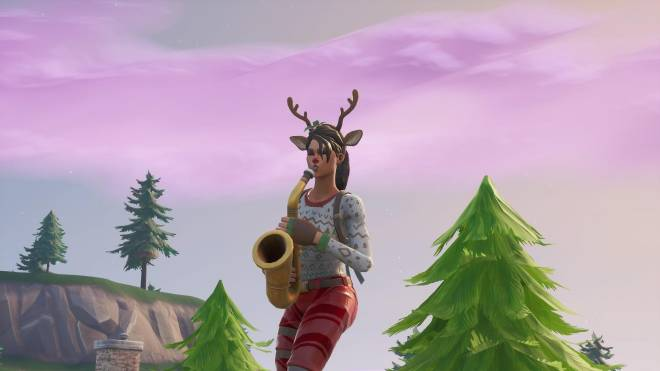 Fortnite: Battle Royale - It's time for some reindeer games... 🦌✨❗(Red-Nosed Raider Showcase) image 4