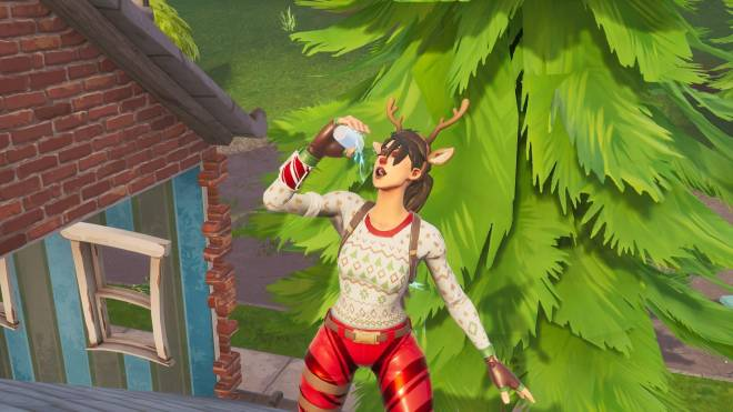Fortnite: Battle Royale - It's time for some reindeer games... 🦌✨❗(Red-Nosed Raider Showcase) image 7