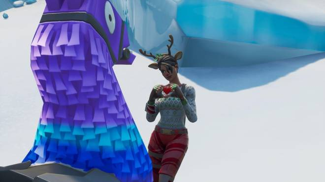 Fortnite: Battle Royale - It's time for some reindeer games... 🦌✨❗(Red-Nosed Raider Showcase) image 3