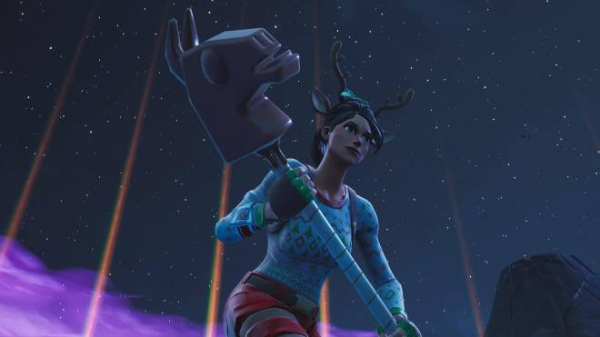 Fortnite: Battle Royale - It's time for some reindeer games... 🦌✨❗(Red-Nosed Raider Showcase) image 5