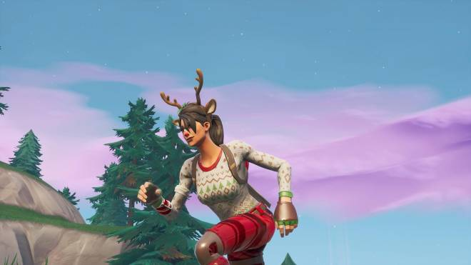 Fortnite: Battle Royale - It's time for some reindeer games... 🦌✨❗(Red-Nosed Raider Showcase) image 11