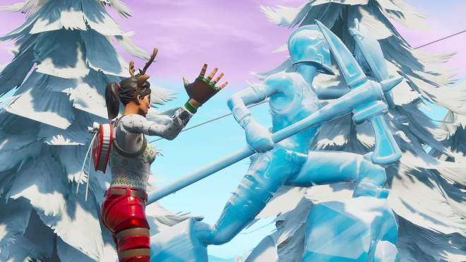 Fortnite: Battle Royale - It's time for some reindeer games... 🦌✨❗(Red-Nosed Raider Showcase) image 19