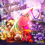 Merry May Login Event!
