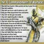 Found these funny: Class Commandments