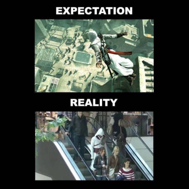 Assassin's Creed: General - Expectations vs reality image 1